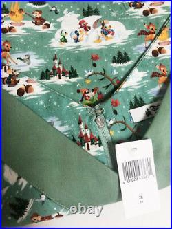 2017 Disney Parks The Dress Shop Christmas Winter Holiday Womens Plus 3X NWT
