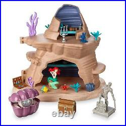 2019 Disney Parks Ariel's Grotto Playset The Little Mermaid Figure Toy New