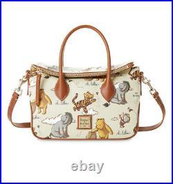 2020 Disney Parks Dooney & Bourke Winnie The Pooh Crossbody Satchel Bag New