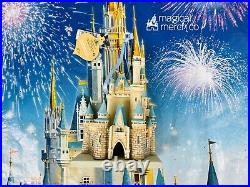 2020 Disney Parks Exclusive Cinderellas Castle Ornament New As Is