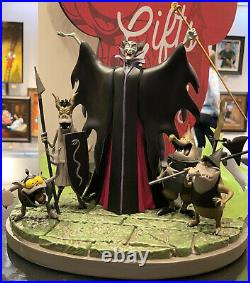 2020 Disney Parks Medium Big Figure Statue Sleeping Beauty Maleficent & Goons