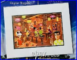 2020 Disney Parks SHAG Trader Sam's In The Enchanted Tiki Bar 18x14 Print New
