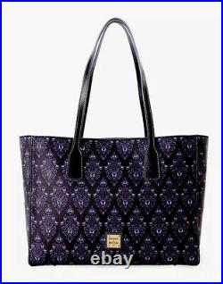 2020 Disney Parks The Haunted Mansion Wallpaper Tote Bag Dooney & Bourke NEW