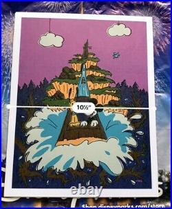 2020 Disney Parks Will Gay Print Splash Mountain Big Splash Mickey & Pluto