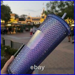 2021 DisneyParks Disneyland CA Edition Starbucks Tumbler 50th Anniversary New