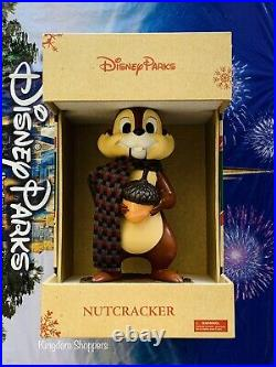 2021 Disney Parks Christmas Nutcracker CHIP New Holiday Chip & Dale Brand New