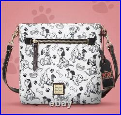 2021 Disney Parks Dooney & Bourke 101 Dalmatians Crossbody Bag Purse New