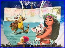 2021 Disney Parks Dooney & Bourke Moana Pua Maui Tote Purse Bag