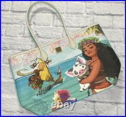 2021 Disney Parks Dooney & Bourke Moana Pua Maui Tote Purse Bag IN HAND