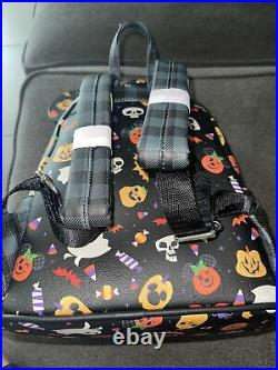 2021 Disney Parks Halloween Loungefly Backpack New
