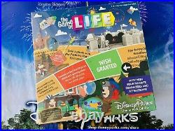 2021 Disney Parks Theme Park Edition The Game Of Life Board Game NEW