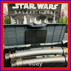 Ashoka Tano legacy lightsabers Disney Galaxys Edge. BRAND NEW from the park NIB