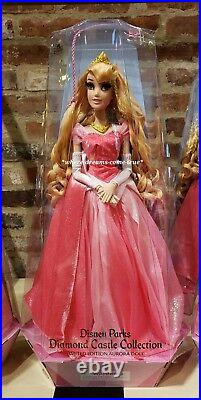 Aurora's Celebration Collection Doll Sleeping Beauty Limited Edition 20 1/2 NEW