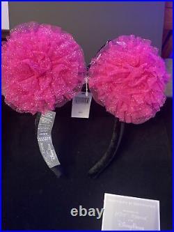 BETSEY JOHNSON x Disney Minnie Mouse Ears Headband Parks Designer Series Pink