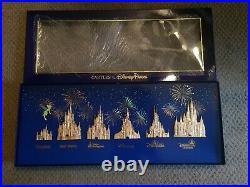 D23 Expo 2019 WDI MOG Mickey's of Glendale Castle Disney Parks LE 300 Pin Set