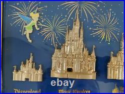D23 Expo 2019 WDI MOG Mickey's of Glendale Castle Disney Parks Pin Set