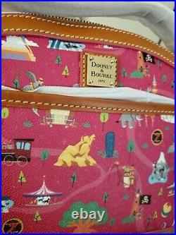 Disney Dooney & Bourke Park Life pink Mickey rides attractions bag purse NWT