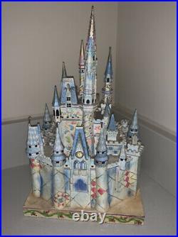 Disney Jim Shore Wdw Parks Exclusive Cinderella Castle Of Dreams