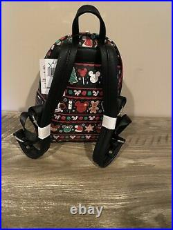 Disney Parks 2019 Snack Christmas Loungefly Backpack NWT PERFECT PLACEMENT BNWT