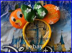 Disney Parks 2020 EPCOT Flower And Garden Festival Orange Bird Minnie Ears