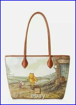 Disney Parks 2020 Winnie The Pooh Tote Bag Dooney & Bourke New In Hand Ships Now