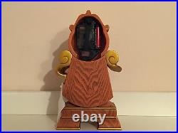 Disney Parks Beauty & The Beast Clock Cogsworth Figurine Figure New With Box