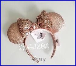 Disney Parks Briar Rose Gold Minnie Ears Hat Mickey Icon Baseball Cap Set Adult