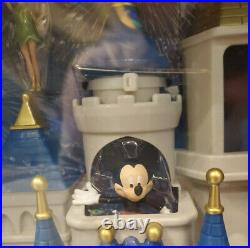 Disney Parks Cinderella Castle Playset Lights, Fireworks Show, Sounds And Music