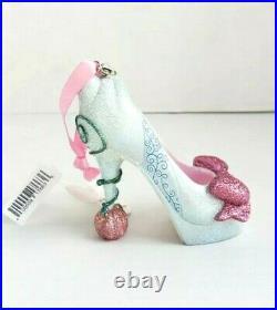 Disney Parks Cinderella Fairy Godmother HIgh Heel Shoe Ornament Retired Rare