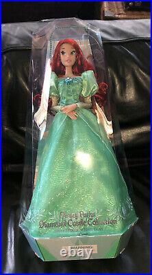 Disney Parks Diamond Castle Collection Ariel Limited Edition Doll Little Mermaid