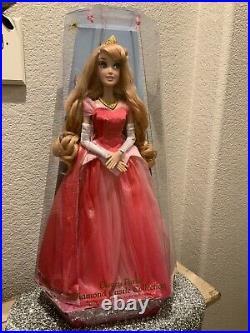 Disney Parks Diamond Castle Collection Limited Edition Aurora Doll 20 1/2'