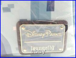 Disney Parks Disneyland Cinderella Castle Loungefly Mini Backpack Bag NWT Rare