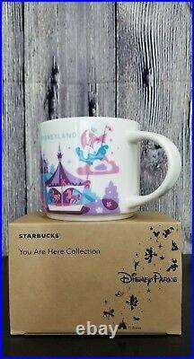 Disney Parks Disneyland Fantasyland YAH You Are Here Starbucks Mug Version 2