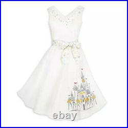 Disney Parks Dress Shop Fantasyland Castle Holiday Dress Women Size XL NEW