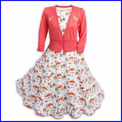 Disney Parks Dress Shop Main Street, U. S. A. White Costume Dress Size 2X