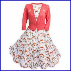 Disney Parks Dress Shop Main Street, U. S. A. White Costume Dress Size XL