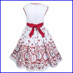 Disney Parks Dress Shop Mary Poppins White Costume Dress Size Youth S Small