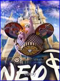 Disney Parks Figment Ear Hat Ornament Journey Into Imagination Costa Alavezos