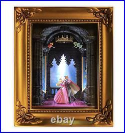 Disney Parks Gallery of Light Olszewski 60th Sleeping Beauty New with Bo