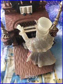 Disney Parks Haunted Mansion Organ Player II Jim Shore Glow in the Dark