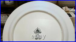 Disney Parks Homestead Icon Mickey Dinner Plate (Set of 4) New