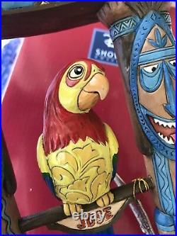Disney Parks Jim Shore Enchanted Tiki Room Figurine Figure Brand New Tiki Bird