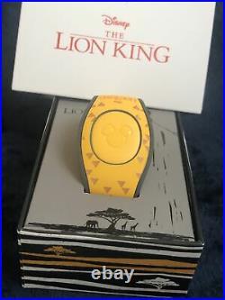 Disney Parks Limited Edition 2500 Disney Lion King Magic Band 2 Magic Band 2 NEW