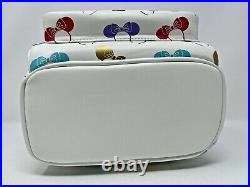 Disney Parks Loungefly Minnie Mouse Ears Headband Ear Holder Mini Backpack NWT