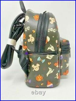 Disney Parks Mickey Mouse Halloween Treats Snacks Mini Backpack Loungefly 2020