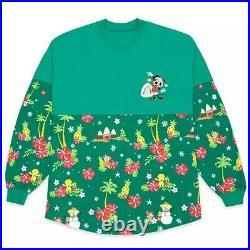 Disney Parks Mickey Mouse Holiday Spirit Jersey Adults Aulani Resort Christmas