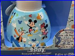Disney Parks Mickey Mouse Shaped Foaming Soap Dispenser