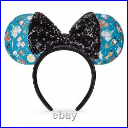 Disney Parks Minis Ear Headband for Adults by Loungefly Limited Release
