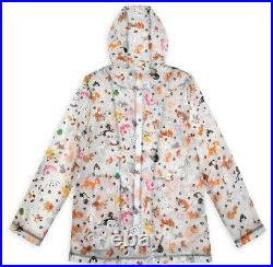 Disney Parks Reigning Cats And Dogs Raincoat For Women New With Tag Adult XL