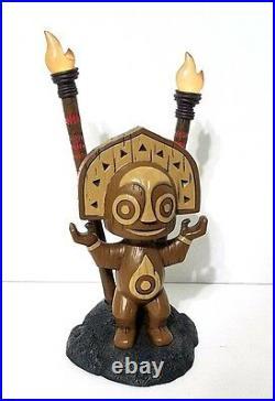 Disney Parks Resort Polynesian Village Tiki Totem Statue Figure Light Up